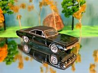 Dodge Charger 1968 Midnight Black, Green Light Collectibles, 1:64 Scale Die Cast