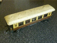 VINTAGE EARLY 20TH CENTURY BING TRAINS O GUAGE GWR No.3295 RAILWAY DINING CAR