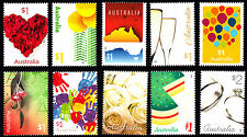 Australia 2016 Love To Celebrate Complete Set Of Stamps  MNH