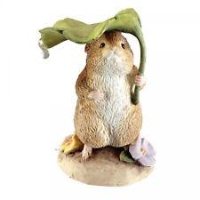 Beatrix Potter Peter Rabbit  Timmy Willie Under Leaf  Mini Figurine
