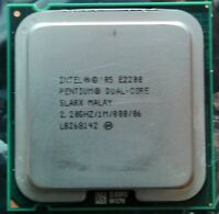 Intel Pentium Dual Core E2200 2.2GHz CPU 800 FSB 1MB Cache Socket LGA 775 SLA8X