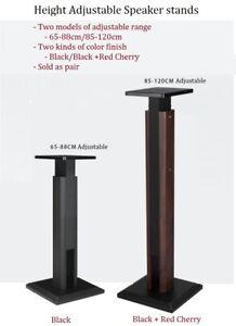 Home Theatre/Bookshelf/Hi Fi satellite Speaker Stands Height adjustable