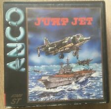 JUMP JET Game ATARI ST - Floppy Disc By Anco Works! Boxed W/Manual Rare VINTAGE