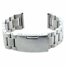 Bracelet Sangle de Remplacement pour Montre Metal acier 20mm Couleur argent H8K5