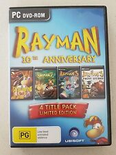 RAYMAN 10TH ANNIVERSARY - 4 DISCS - LIMITED EDITION - PC DVD ROM