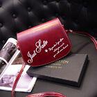 Retro Women Bag Leather Mini Small Adjustable Shoulder Bag Handbag Letter packet