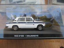 JAMES BOND CARS COLLECTION 113 VAZ 2106 Police car Lada  Riva