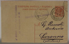 POSTA MILITARE 30.12.1917 CAMPO RIORDINAMENTO 5 (9° ARTIGLIERIA FORTEZZA) #XP513