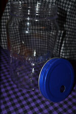 Absolut Vodka Plastic Mason Jar style cup with lid new