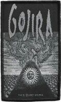 100% Official Licensed Merch Woven Sew-on PATCH Heavy Metal Rock GOJIRA Magma