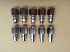 Air Hose Line Fittings 10 x Nitto Style Female Adaptors for Spray Gun & Tools