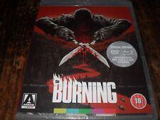 The Burning (1981) Gore/Nudity Arrow 2-Disc Region B (READ DETAILS!) NEW Blu-ray