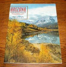 Arizona Highways Magazine – September, 1961 – Four Corners, Navajo Dam - NICE