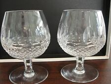 WATERFORD COLLEEN 2 BRANDY GLASSES