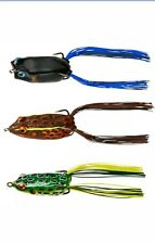 Booyah Baits Jason Christie Hollow Body Frog Combo 3 Pack Bass & Pike Frog Lures