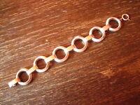 prächtiges elegantes Art Deco Armband 835er Silber 2,5 cm breit ca. 20 cm lang