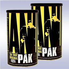 UNIVERSAL NUTRITION ANIMAL PAK (2-PACK: 44 PACKETS EA) multivitamin amino acids
