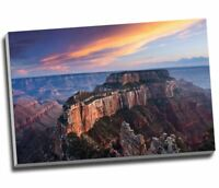 "Landscape Canvas Mountain Sunset Canyon Canvas Print Wall Art 30x20"" A1"