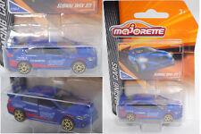 Majorette racing 212084009 SUBARU WRX STi, bleu, STI, Nº 275d-2, environ 1:58
