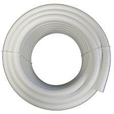 """3"""" Dia. White Flexible Pvc Pipe, Hose & Tubing for Spas & Pools"""