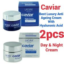 Hyaluronic Acid & Caviar Power Best Anti Wrinkle & Aging Day & Night Cream 2×pcs