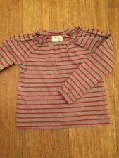 Striped Ruffle Long Sleeve Girls' T-Shirts & Tops (2-16 Years)