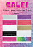 Silicone Soft Keyboard Cover Protector Rainbow Colorful Skin Dustproof For Apple