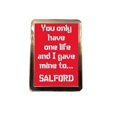 Salford City F.C - One Life Fridge Magnet
