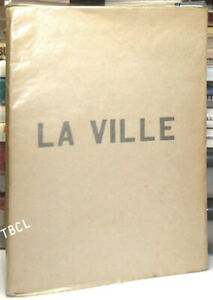 Paul Claudel / LA VILLE Published anonymously First Edition 1893