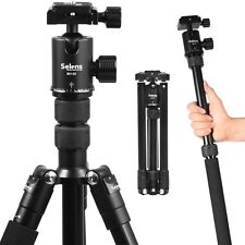 Selens Portable Pro Travel Aluminium Tripod Monopod Ball Head for DSLR Camera