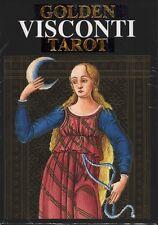 Golden Visconti Tarot (22 cards), new from Loscarabeo, brand new!