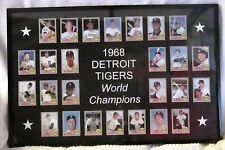 1968 Topps set – Detroit Tigers World Series Cards