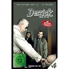 DERRICK - DERRICK COLLECTOR'S BOX 13 (5 DVD/EP.181-195) 5 DVD HORST TAPPERT NEU