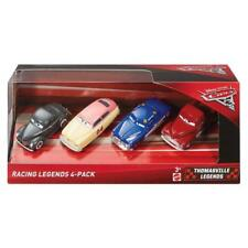 DISNEY PIXAR CARS 3 RACING LEGENDS THOMASVILLE 4 PACK FIGURE SET