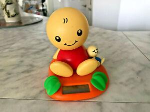 2002 Tomy NoHoHon Solar Bobble Head Yellow Red Figure Body