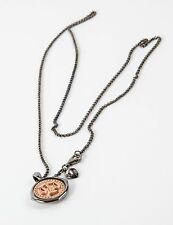 Stephen Webster Gold Plated Sterling Silver Libra Pendant chain Necklace Zodiac