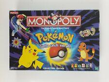 Pokemon Monopoly Collectors Edition Waddingtons Hasbro 100% Complete