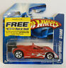 2007 Hotwheels Ferrari 333SP Red Short Card! SC! Very Rare! Mint!