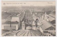 Gand Exhibition 1913 postcard - Panorama