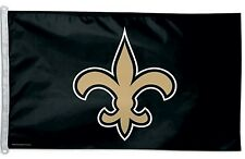New listing New Orleans Saints 3x5 House Flag [New] Nfl Banner Sign Fan Wall Man Cave