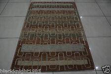 Indian Hand Tufted 4x6 120x180 Modern Wool Art Silk Viscose Carpet Area Rug Hali