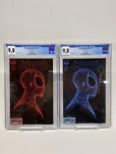 Amazing Spider-Man 55 CGC 9.8 Gleason Webhead 2nd & 3rd Print Lot Fresh Cases