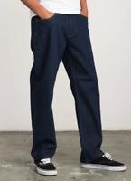 RVCA Men's Andrew Reynolds Signature Collection Jean Americana , Blue M351MRAR
