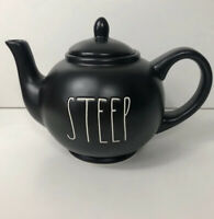 Rae Dunn STEEP TEAPOT Ceramic With Lid Artisan Collection by Magenta