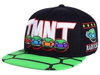 Nickelodeon Ninja Turtles Official TMNT Animigos EMB Snapback Adjustable Hat AE