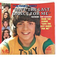 DeFRANCO FAMILY - Save The Last Dance For Me  (picture sleeve only) - NM