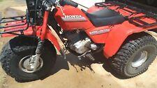 New Listing1985 Honda Big Red Atc 250Es Original Owner - No Reserve!