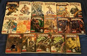 Berserk Manga Lot Volumes 1-17 [ENGLISH EDITIONS] *USED*
