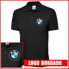 Camiseta Polo Hombre manga corta bordado Logo BMW embroidery logo