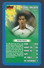TOP TRUMPS-2006-WORLD FOOTBALL STARS-GERMANY/CHELSEA-B MUNICH-MICHAEL BALLACK